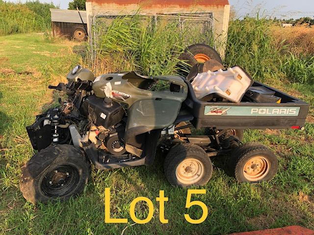 LOT #5 - Polaris 6x6 ATV (NO RESERVE)